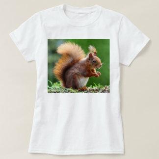 Cute orange squirrel t-shirt