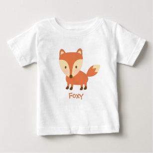 73d586d50 Cute Orange Woodland Fox For Babies Baby T-Shirt