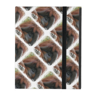 Cute Orangutan Face Wildlife Photography iPad Cover