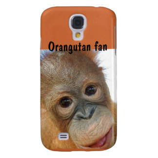 Cute Orangutan Redhead Baby Samsung Galaxy S4 Cover