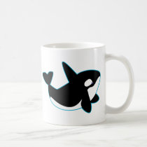 Cute Orca (Killer Whale) Coffee Mug