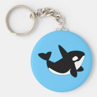 Cute Orca (Killer Whale) Keychains