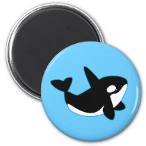 Cute Orca (Killer Whale) Magnet