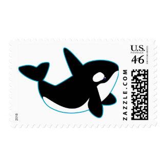 Cute Orca (Killer Whale) Stamp