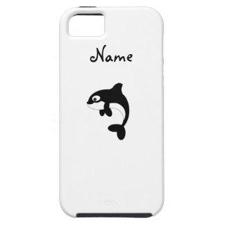 Cute orca whale iPhone 5 cover
