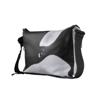 Cute Orca Whale Courier Bag