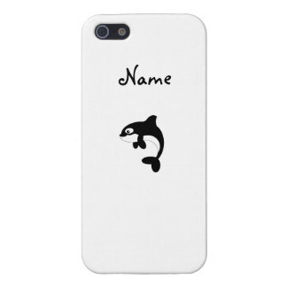 Cute orca whale case for iPhone 5
