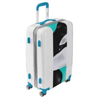 Cute Orca Whale Luggage