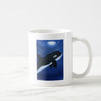 Cute orca whale mugs