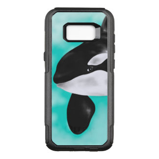 Cute Orca Whale OtterBox Commuter Samsung Galaxy S8+ Case
