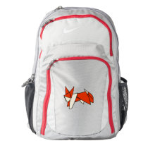 Cute Origami Fox illustration Backpack