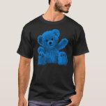 Cute osito Bear, osito de peluche, blue Playera