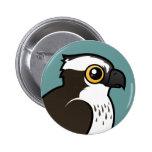 Cute Osprey 2 Inch Round Button