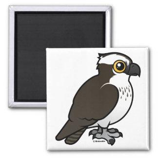 Cute Osprey 2 Inch Square Magnet