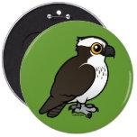 Cute Osprey 6 Inch Round Button