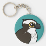Cute Osprey Basic Round Button Keychain
