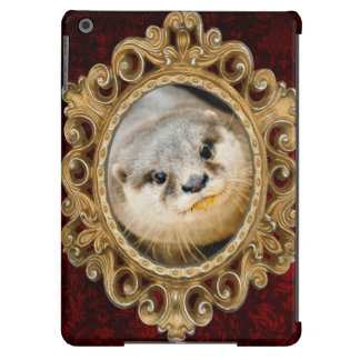 Cute Otter, Animal Portrait, Nature Photography iPad Air Covers