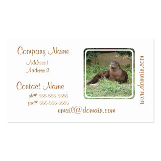 Cute Otter Business Cards