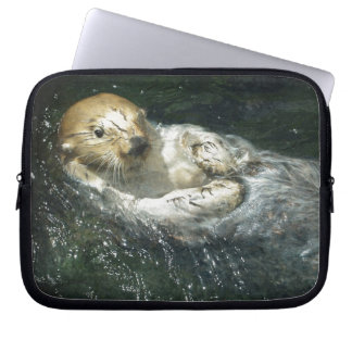 Cute Otter Design for Animal-lovers Computer Sleeve