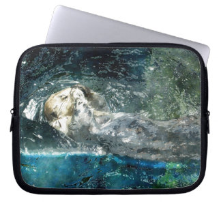 Cute Otter Design for Animal-lovers Computer Sleeves