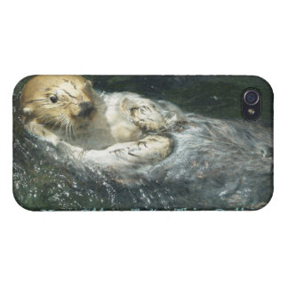 Cute Otter Design for Animal-lovers iPhone 4/4S Case