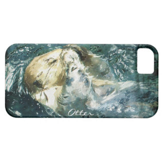 Cute Otter Design for Animal-lovers iPhone SE/5/5s Case