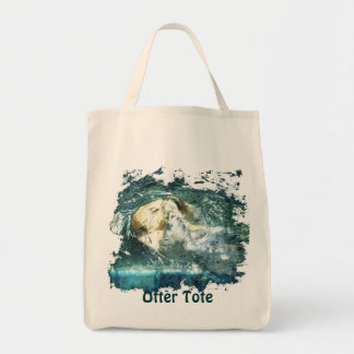 Cute Otter Design for Animal-lovers Tote Bag