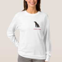 Cute OTTER Love Ladies Long-Sleeve Shirt