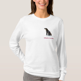 Cute OTTER Love Ladies Long-Sleeve Shirt