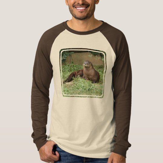 Cute Otter Men's Long Sleeve T-Shirt