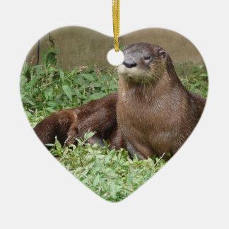 Cute Otter Ornament