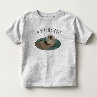 Cute Otter Toddler's T-Shirt