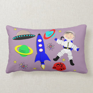 Cute Outer Space Themed Pillow