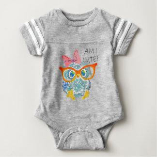 Cute Owl Baby Bodysuit