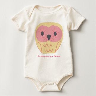 Cute Owl Baby Onsie Gift Baby Shower Idea Baby Bodysuit