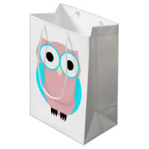 Cute Owl Baby Shower Gift Bag