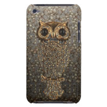 cute owl barely there iPod cover