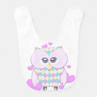 Cute Owl Bib