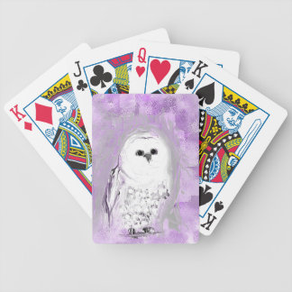 Cute Owl Bicycle Card Deck