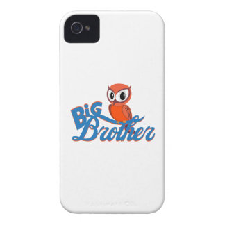 Cute Owl Big Brother iPhone 4 Case-Mate Cases