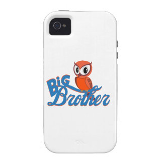 Cute Owl Big Brother iPhone 4/4S Cover