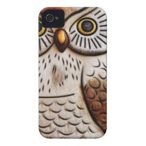 cute owl bird owl,cute,bird,fly,funny,animal,decor iPhone 4 Case-Mate case