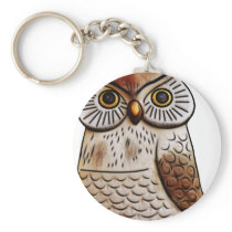 cute owl bird owl,cute,bird,fly,funny,animal,decor keychain