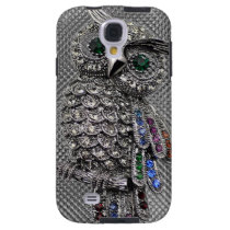 cute owl bling galaxy s4 case