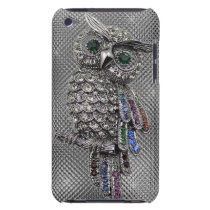 cute owl bling iPod touch Case-Mate case