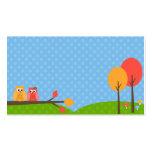 Cute Owl Business Cards