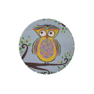 paintingbuzz Cute Owl Candy Tin Party Favor
