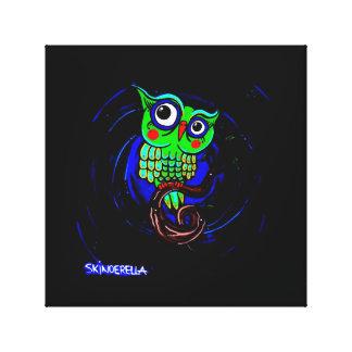 """Cute Owl"" canvas"