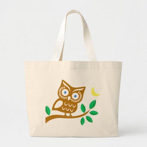 Cute Owl Canvas Bag