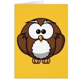 Cute Owl Card